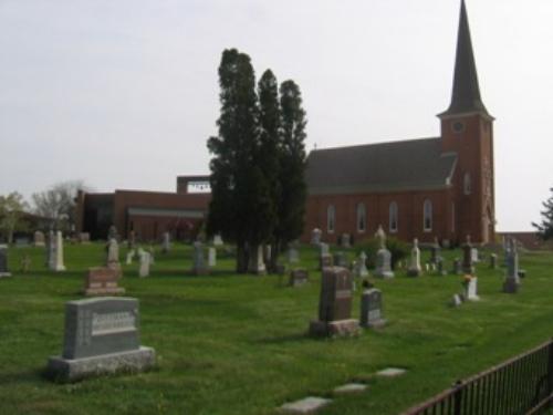 Guardian Angles Cemetery in Oakdale, MN