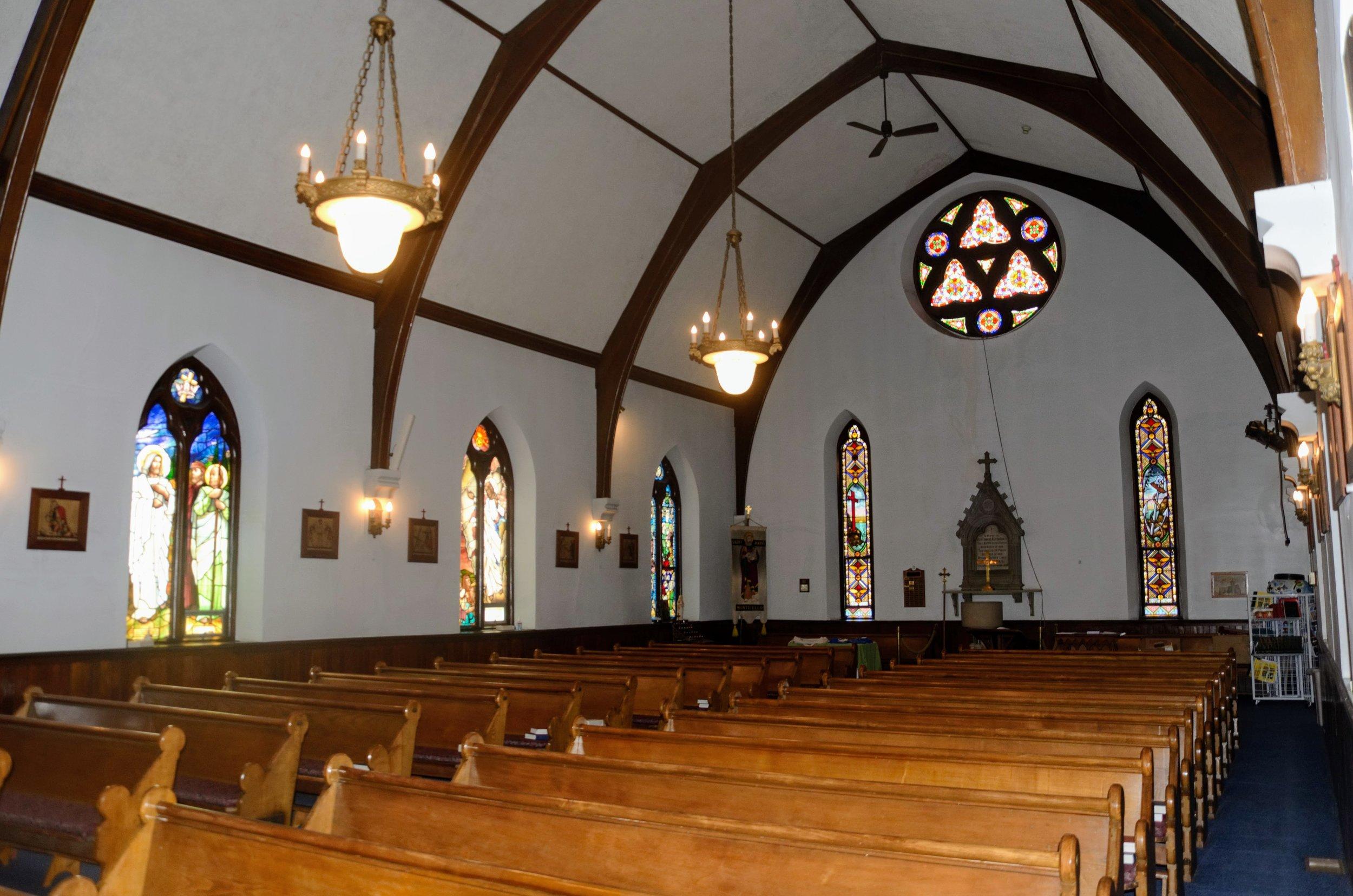 inside St John