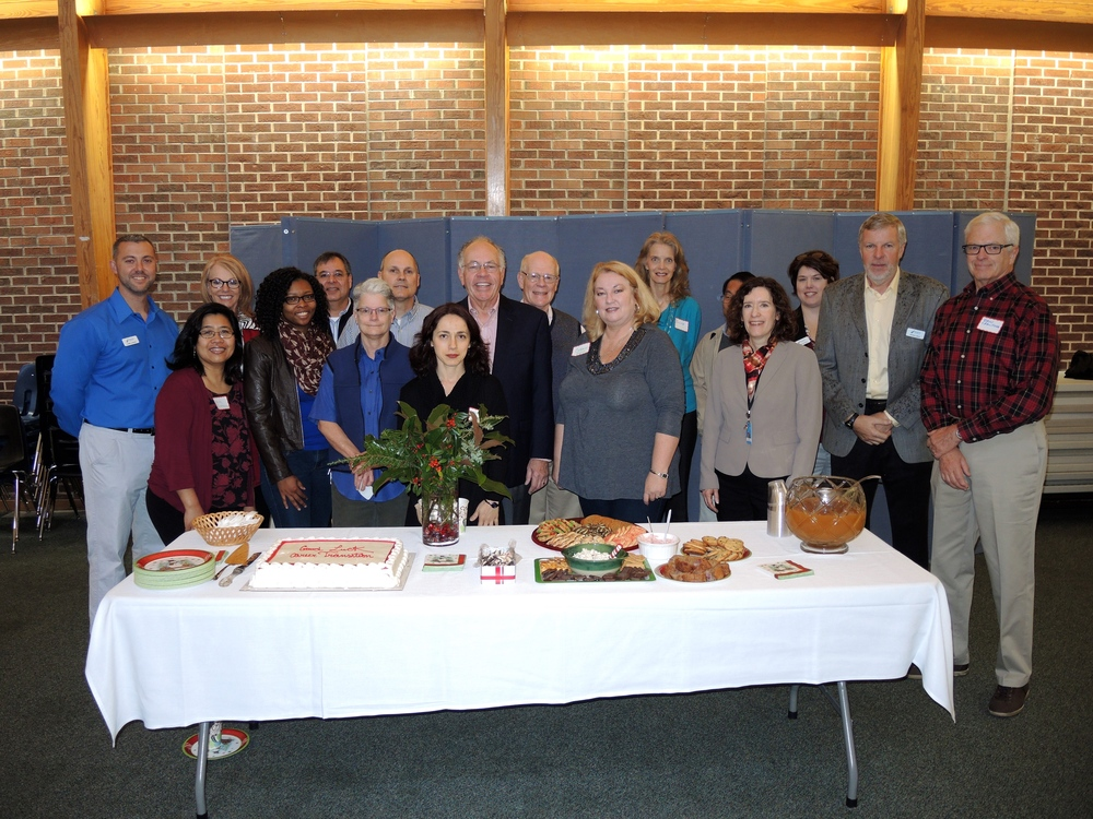Career Transitions Volunteers and StepUp Ministry Staff at St. Michael's