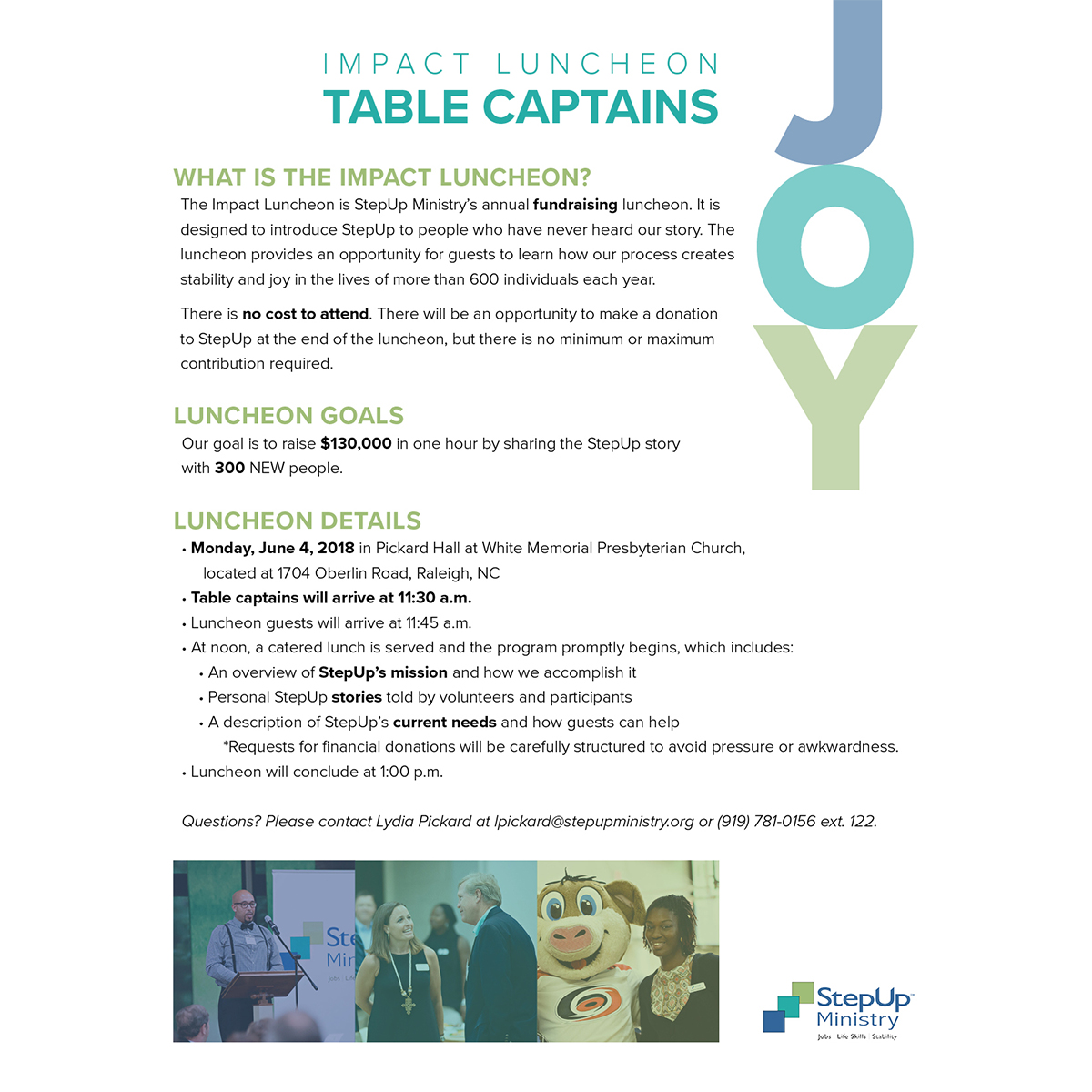 TABLE Captain Packet -