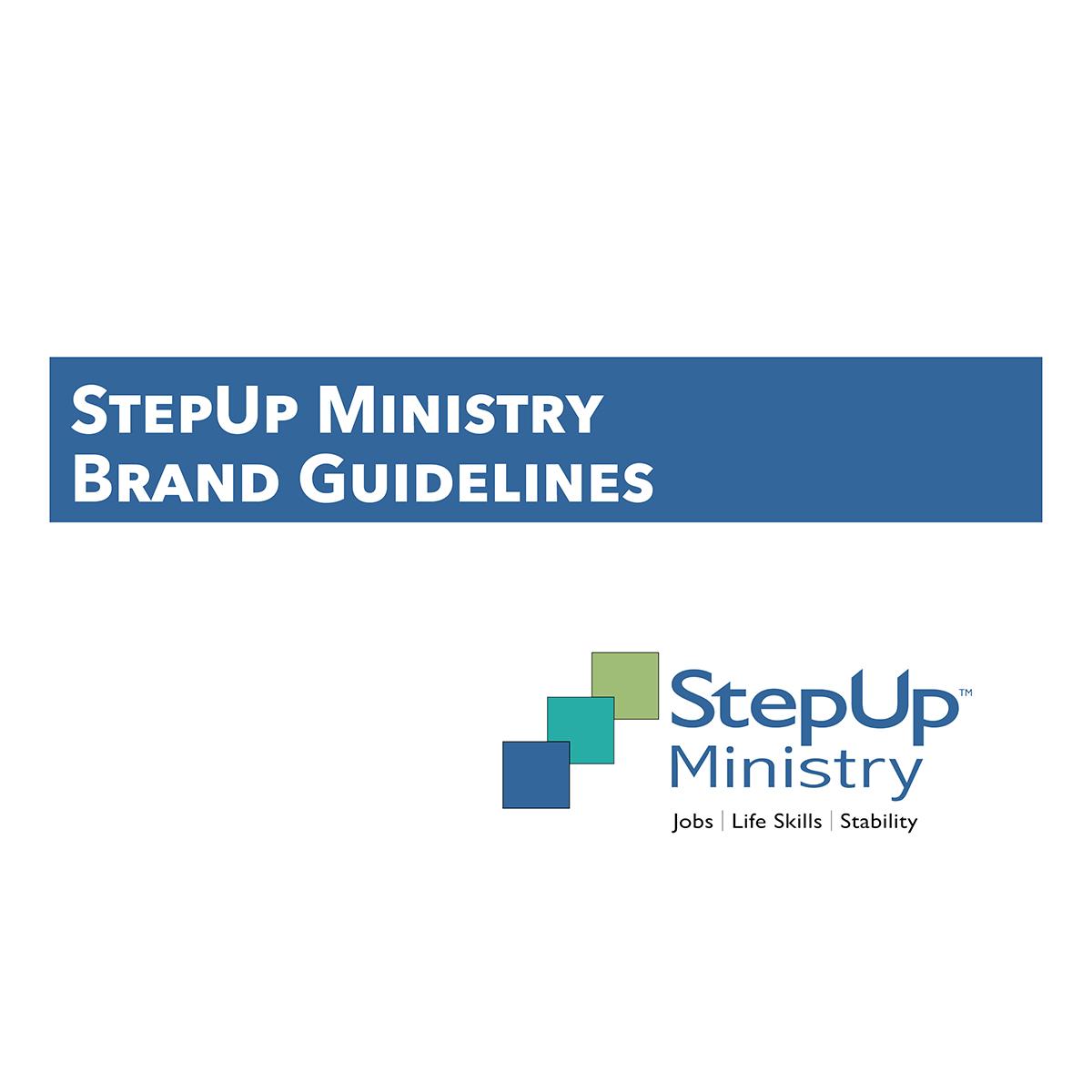 BRAND GUIDELINES - 2018 StepUp Ministry Brand