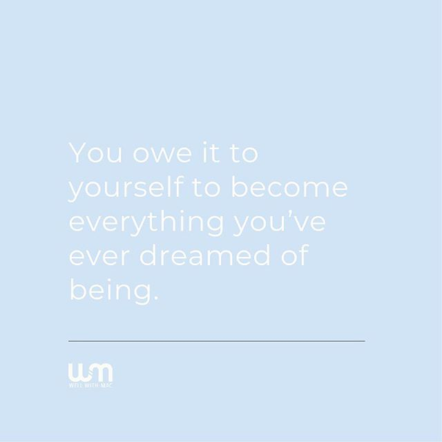 You owe it to yourself. ⠀⠀ Here's your Tuesday truth bomb: you absolutely owe it to yourself to be everything you want to be. ⠀⠀ If you want to run a marathon then you owe it to yourself to be a marathon finisher. If you want to be financially free then you owe it to yourself to get there. If you want to travel the world then GD you absolutely owe it to yourself to see the world. ⠀⠀ You are the only thing standing in your way and you are the only reason to find a way to do it. ⠀⠀ Have you always dreamed of being where you're currently sitting? Probably not. Hey, I'm not there yet either! But I am getting closer and closer. You are your own hero and there's nothing else to it. ⠀⠀ What is stopping you from stepping into the person you've always dreamed of becoming? Is it your weight? Is it your confidence? Is it your habits? ⠀⠀ I want to know. Shoot me a DM. What's stopping you? ⠀⠀ #tuesdaytruthbomb #truthbomb #tuesdaytruth #tuesdaythoughts #healthcoaching #healthcoach #hireacoach #ineedacoach #nutritioncoach #lifestylechange #weightlossgoal #weightlossjourney #weightloss #transformation #lifetransformation #healthylife #lifestylegoals #becoming #healthyhappylife #eatwellbewell #goalsetting #crushinggoals #crushingmygoals #goalgetter #betterforit #ownyourlife #bodypositive #reachingforbetter #bebetter #yearofyou