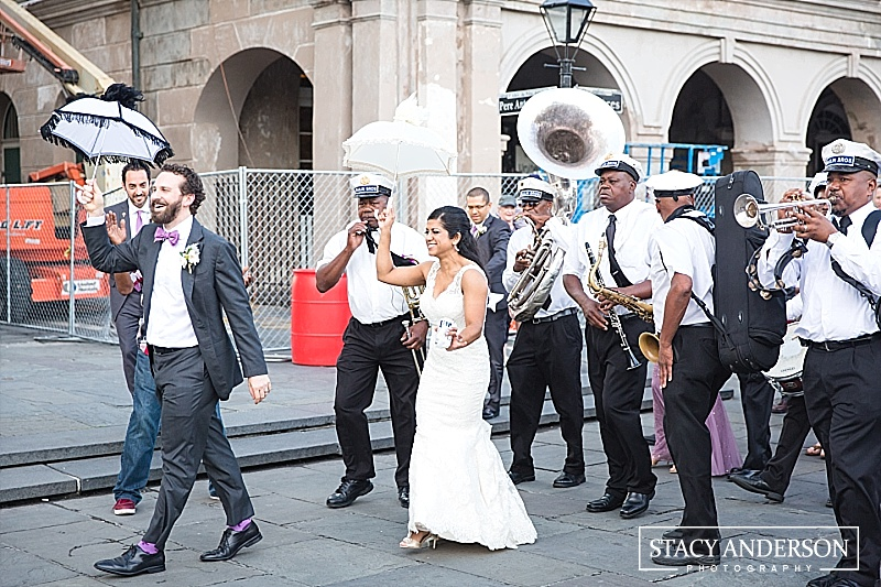 A second-line? Is there anything more New Orleans than that?