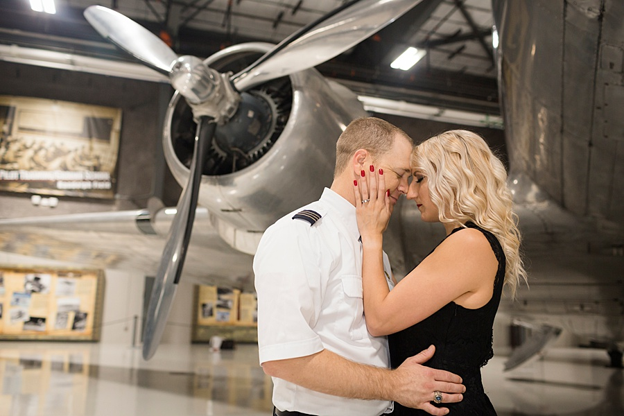 Stacy Anderson Photography Lone Star Flight Museum Engagement Photographer_0007.jpg