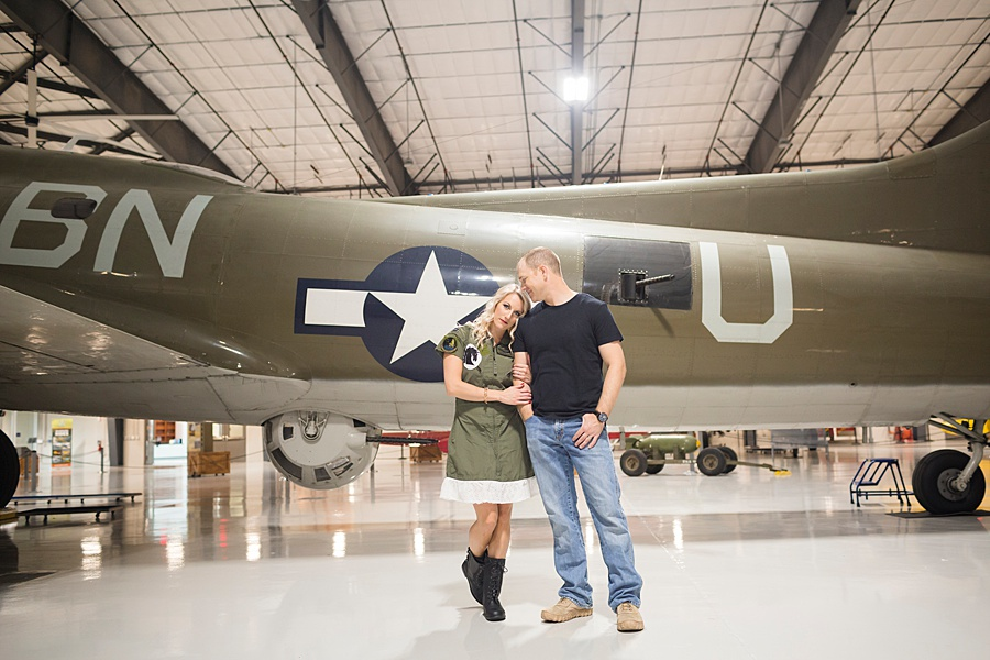 Stacy Anderson Photography Lone Star Flight Museum Engagement Photographer_0011.jpg