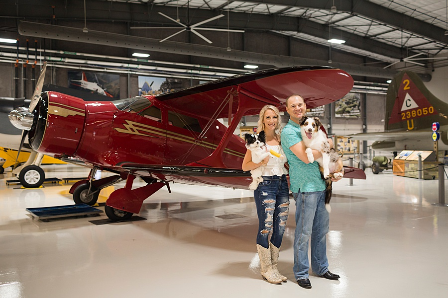 Stacy Anderson Photography Lone Star Flight Museum Engagement Photographer_0015.jpg