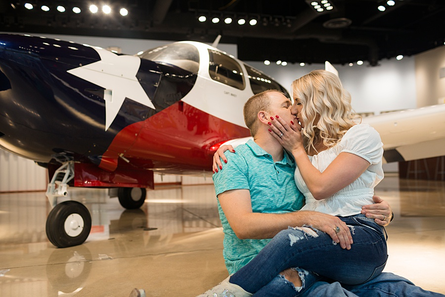 Stacy Anderson Photography Lone Star Flight Museum Engagement Photographer_0016.jpg