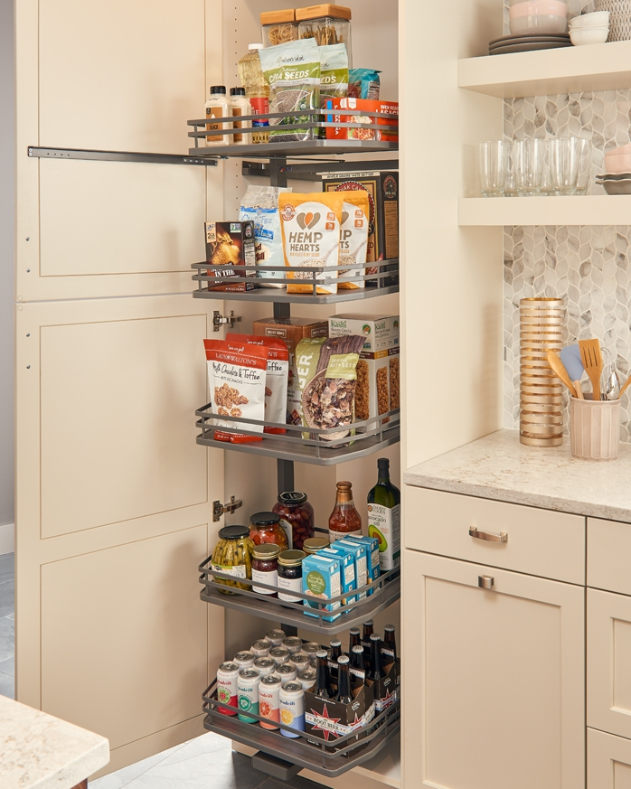 Tall Cabinet Solutions -
