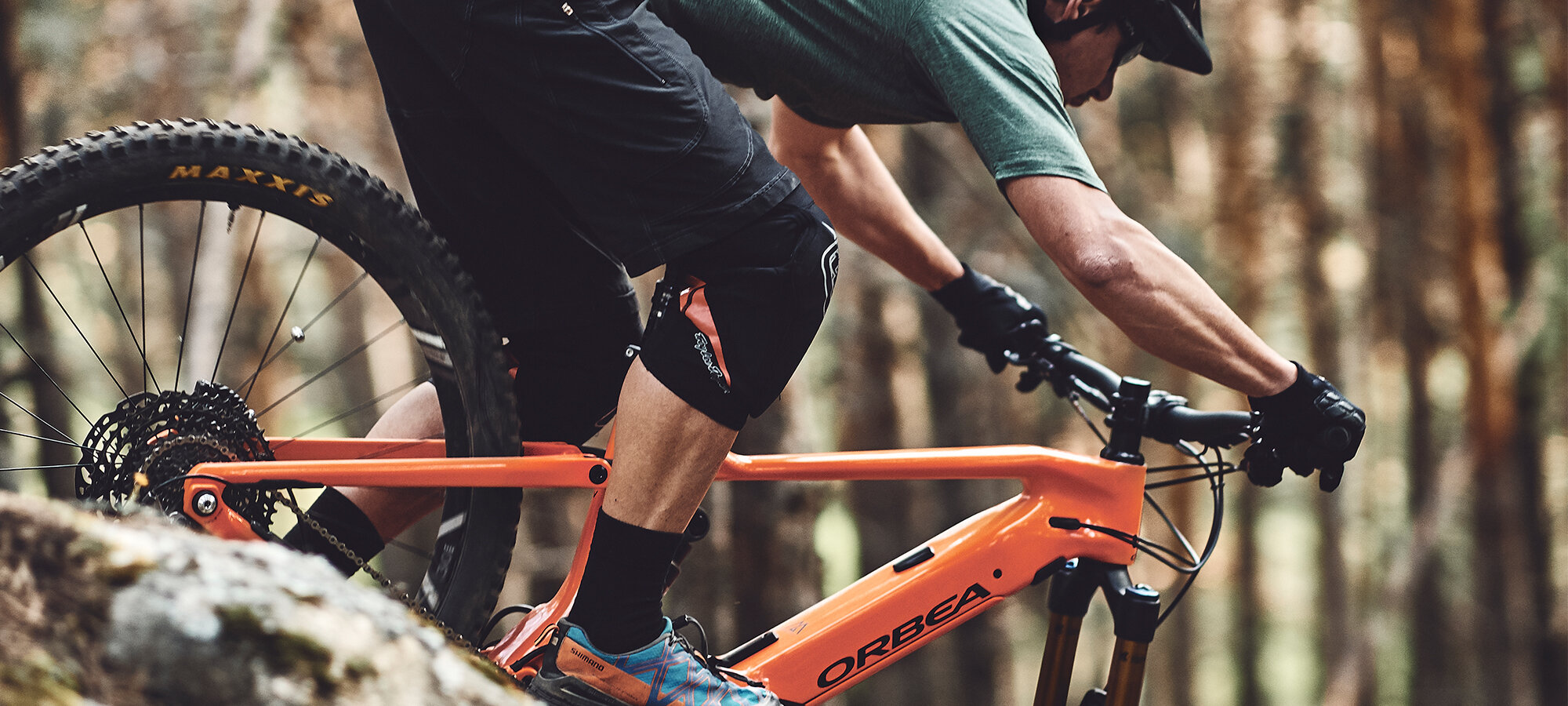 The All New Orbea Wild FS  - Whatever obstacles exist between you, the trails, and your Special Places, it's time to run over them.