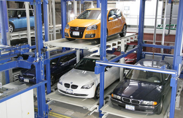 The first company in the US to own and operate a fully automated public 24/7 parking garage -