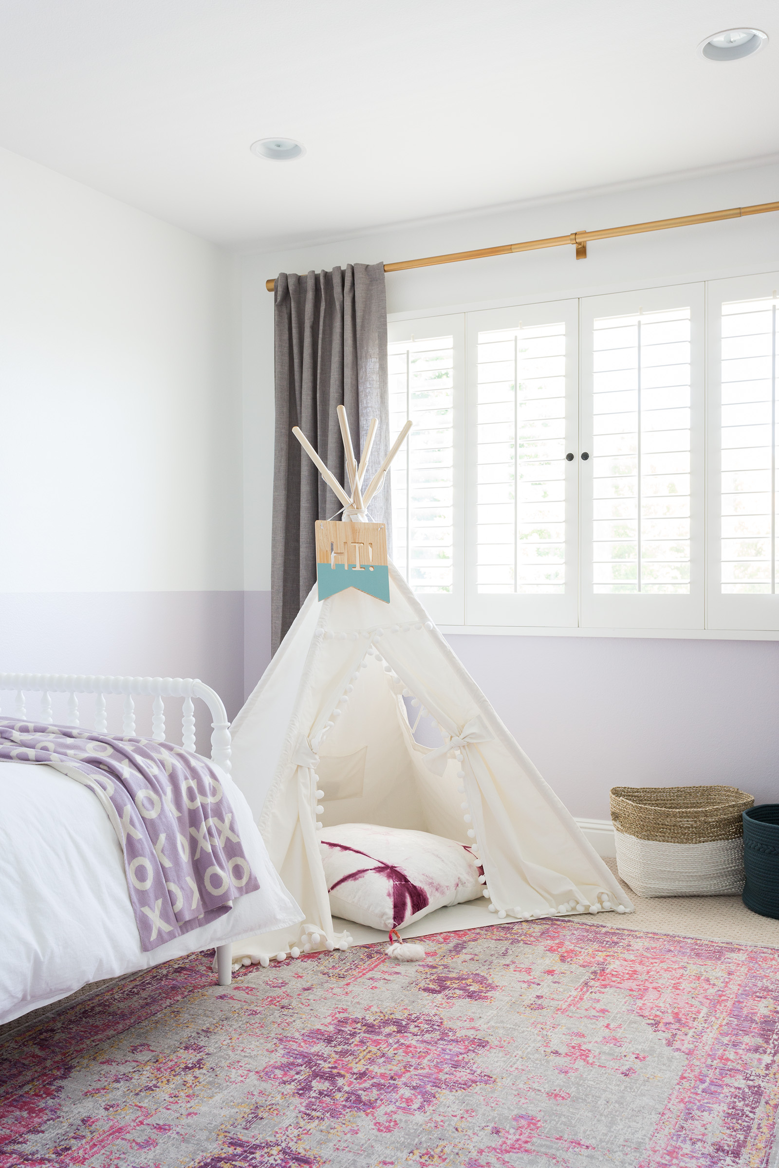 Where to save and where to splurge in kids spaces. California Traditional Project designed by Lindsey Brooke Design, photographed by Amy Bartlam