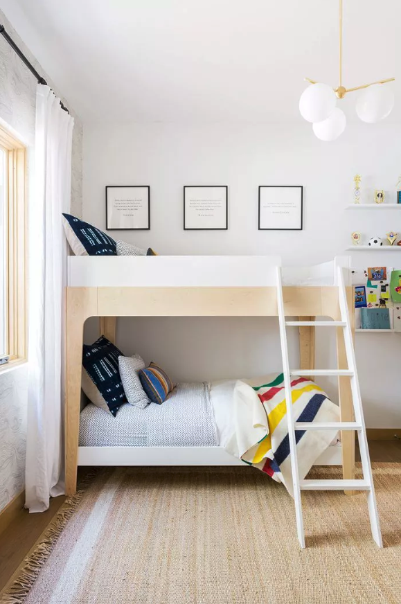 Where to save and where to splurge in kids spaces. Design by J. Kurtz Design