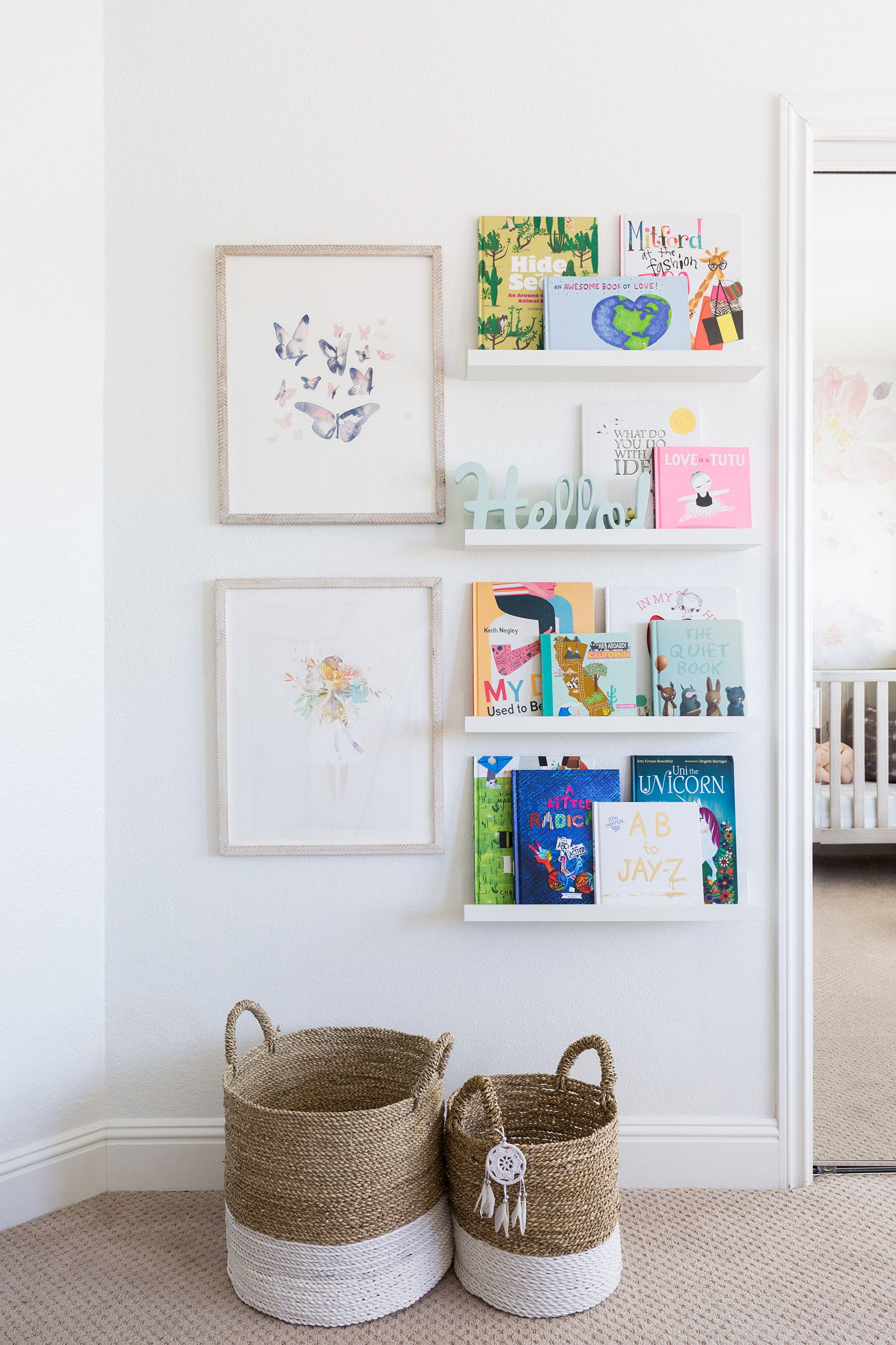 Where to save and where to splurge in kids spaces. Brentwood Project designed by Lindsey Brooke Design, photographed by Amy Bartlam
