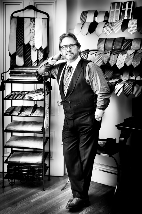 Alan Rouleau, Couture Tailor