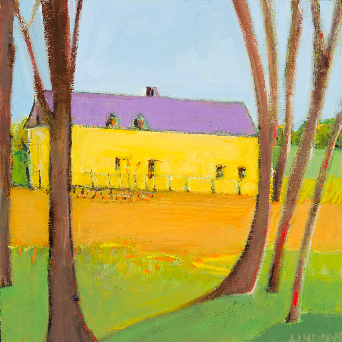 The Yellow Barn