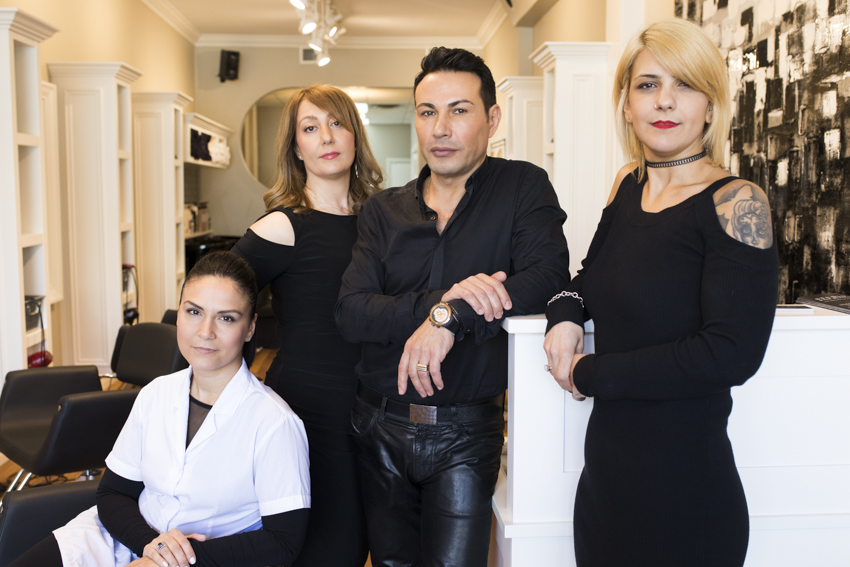 In business for over 25 years, 19 of them at the present location in the heart of Corso Italia, Studio Hair Design continues to be a leader in providing hair styling , colouring, extensions, and make-up & esthetic services. With a casual and friendly atmosphere, all women and men are welcome.