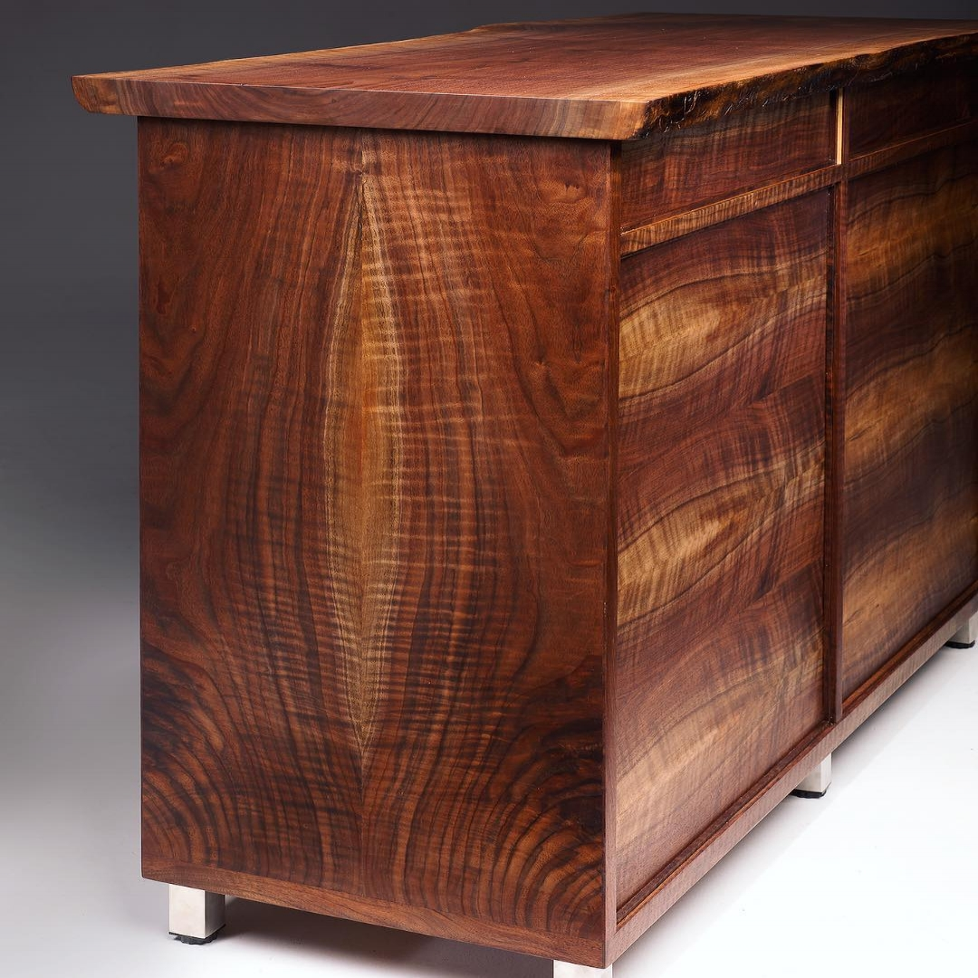 Joey Kochlacs - tailored furniture from exotic, salvaged hardwoods  - Santa Cruz, California
