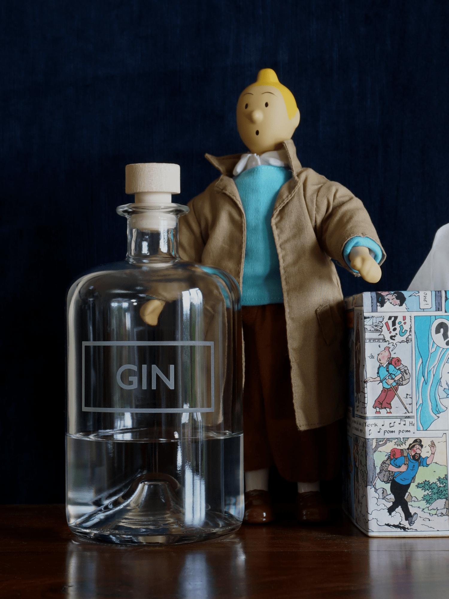 Good looking gin bottle | Blasted, Sheffield