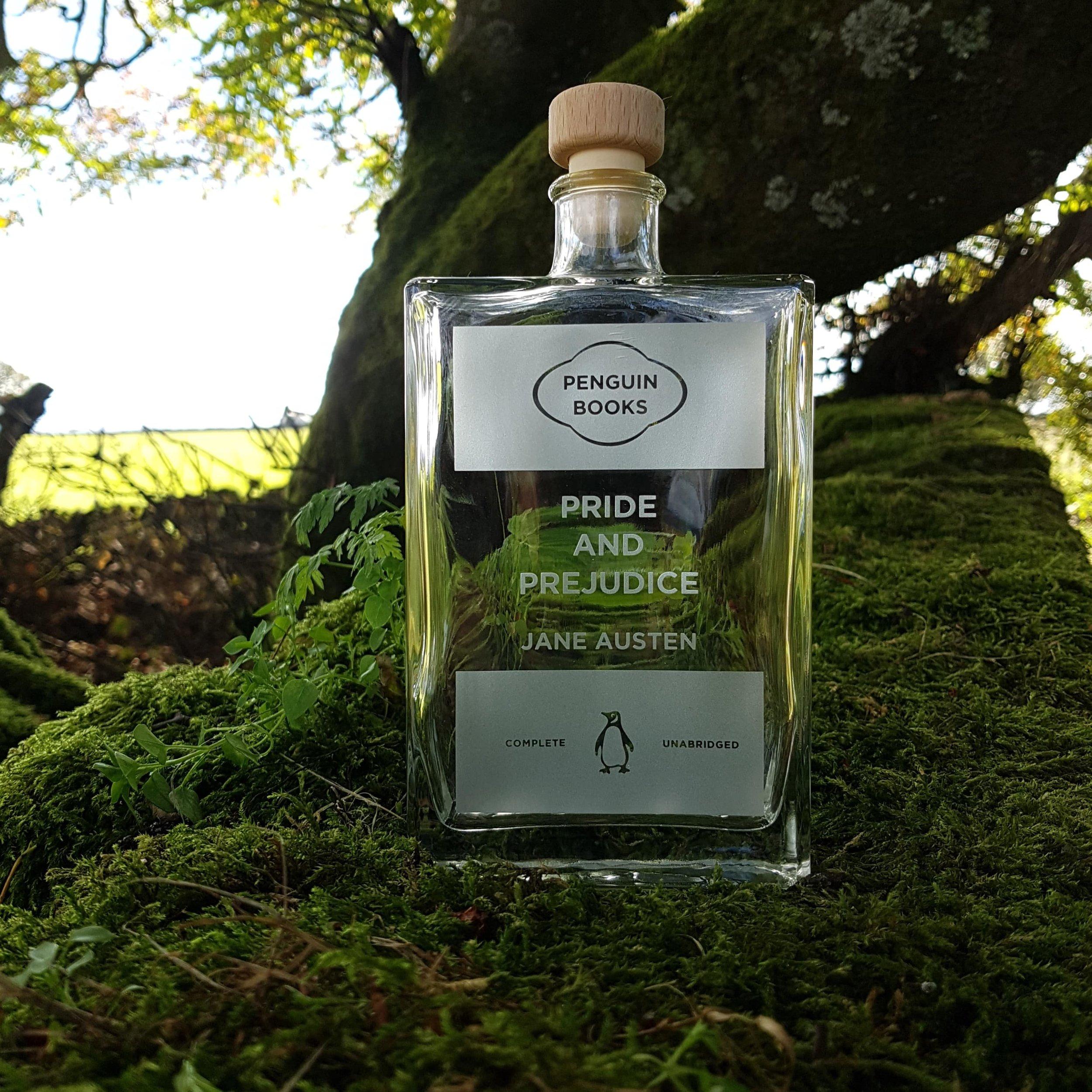 Etched bottles -