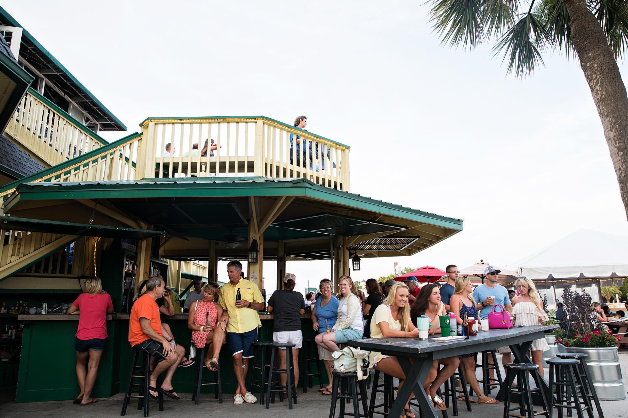 Creekside Bar at Morgan Creek Grill