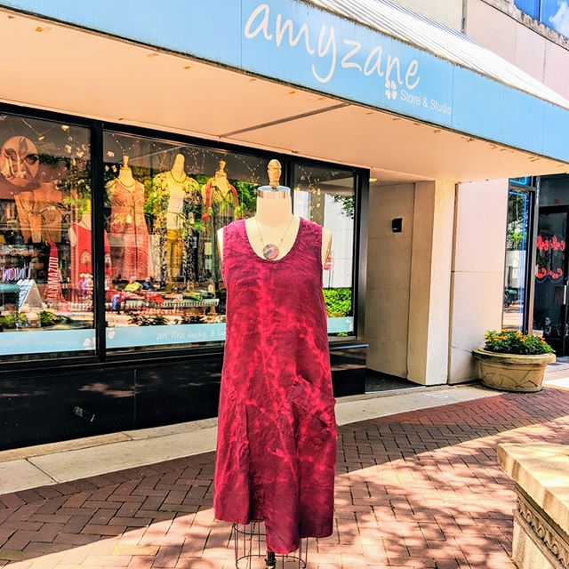 Breaking News: It's SUNNY! Soak it up in this new jumper from Cynthia Ashby!  #fashion #summer #downtownkalamazoo #sunshine #summerlove #solstice