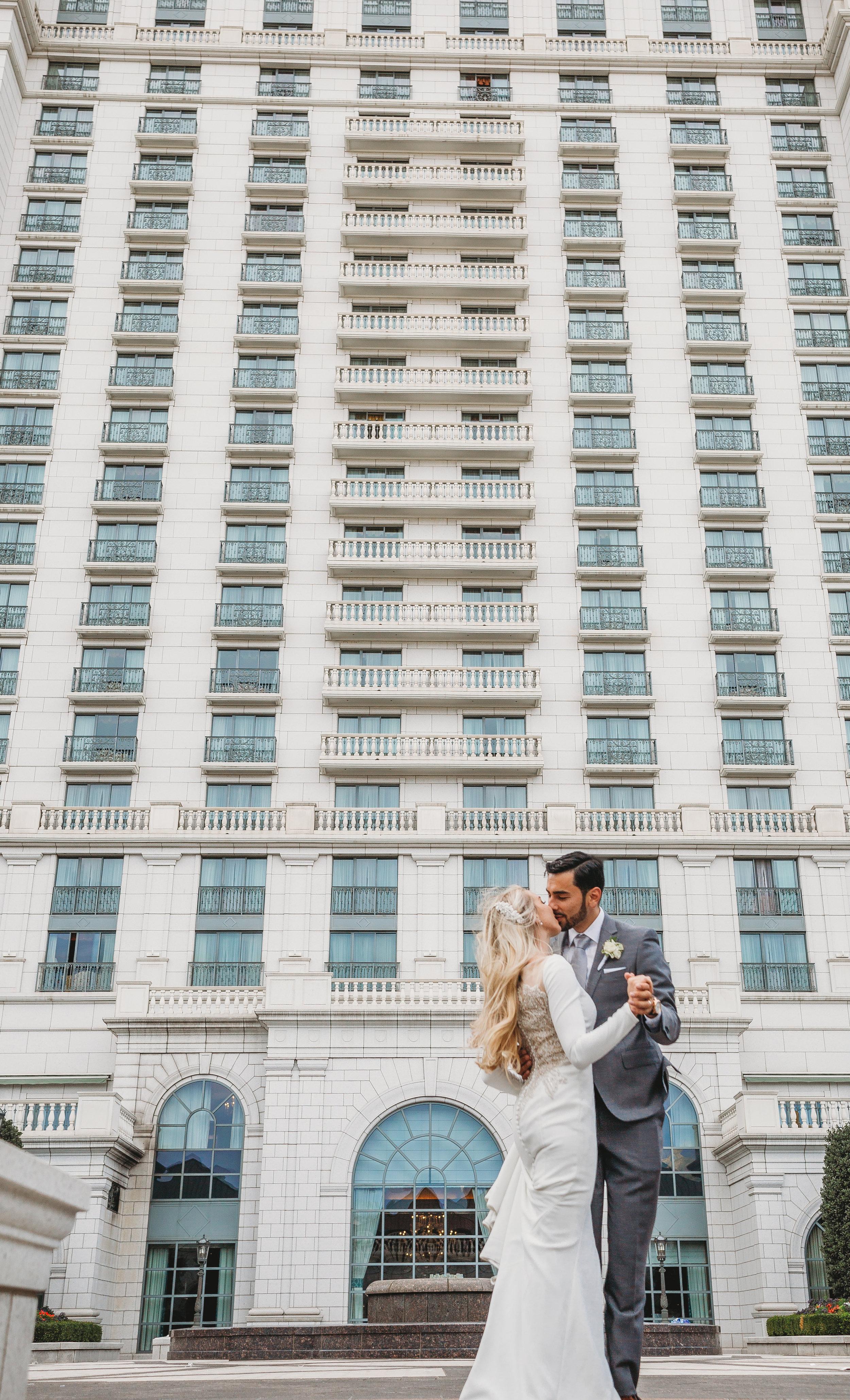 Sierra + Brent - Grand America & SLC Temple Wedding