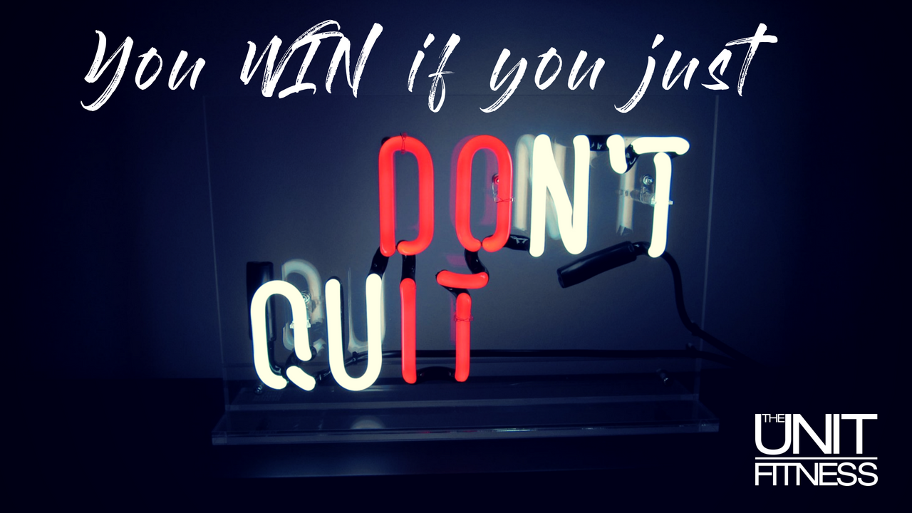 dont quit you've not failed yet