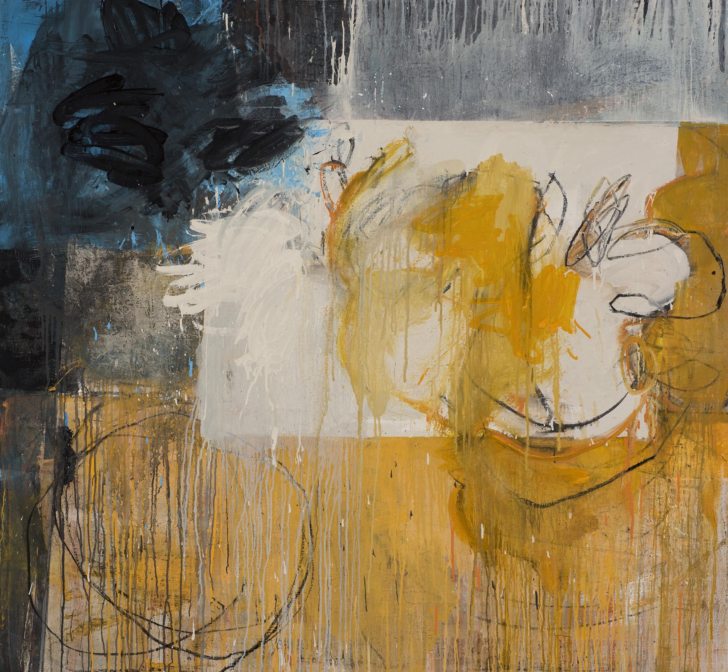 Day Bowman_Plashy Place 3_oil, charcoal and conte on canvas_138 x  150 x 3 cm_2018_DSC_2573.jpg