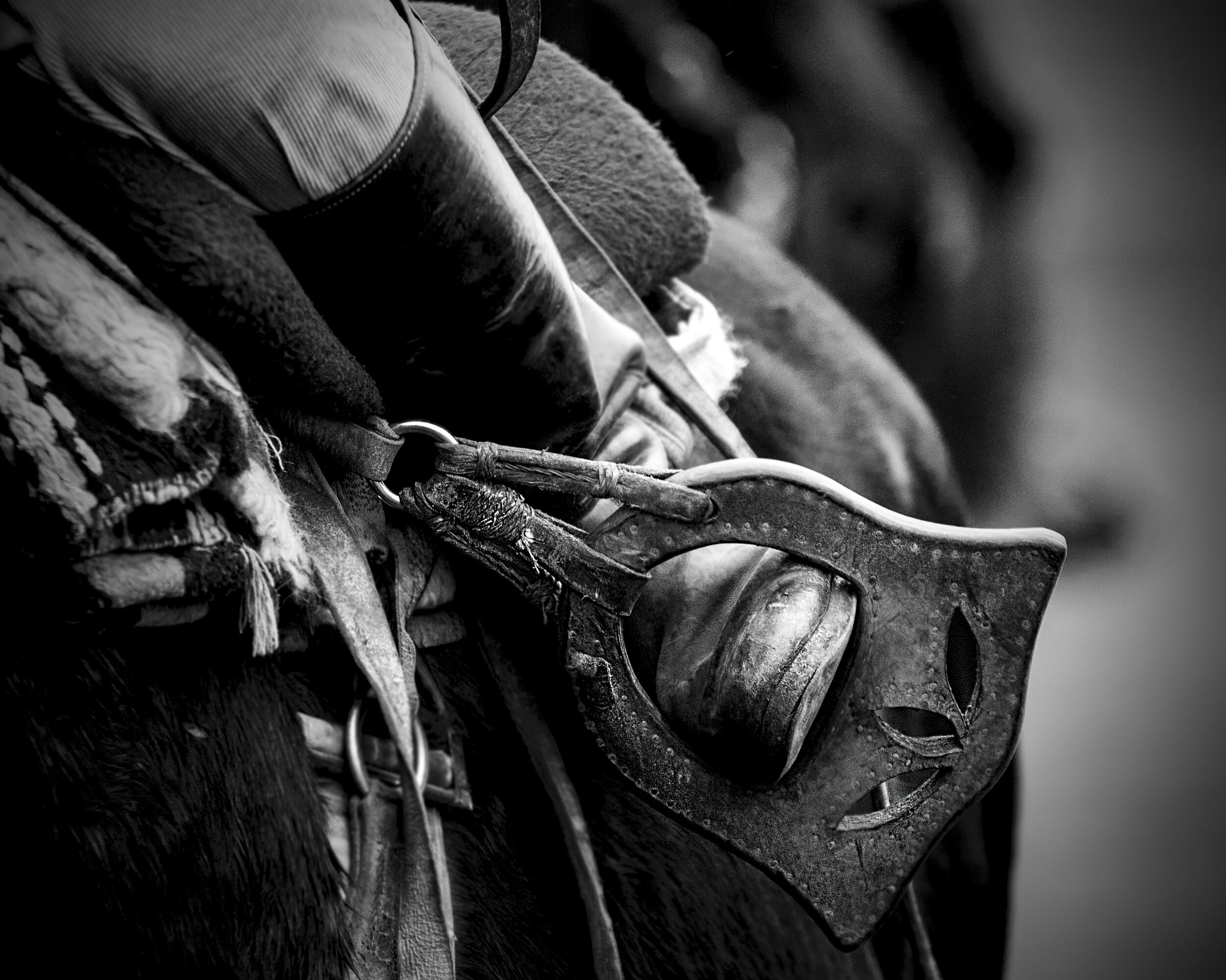 """One of a number of """"Gaucho"""" themed images in black and white. These are available as limited edition prints. More details available will be posted in November."""