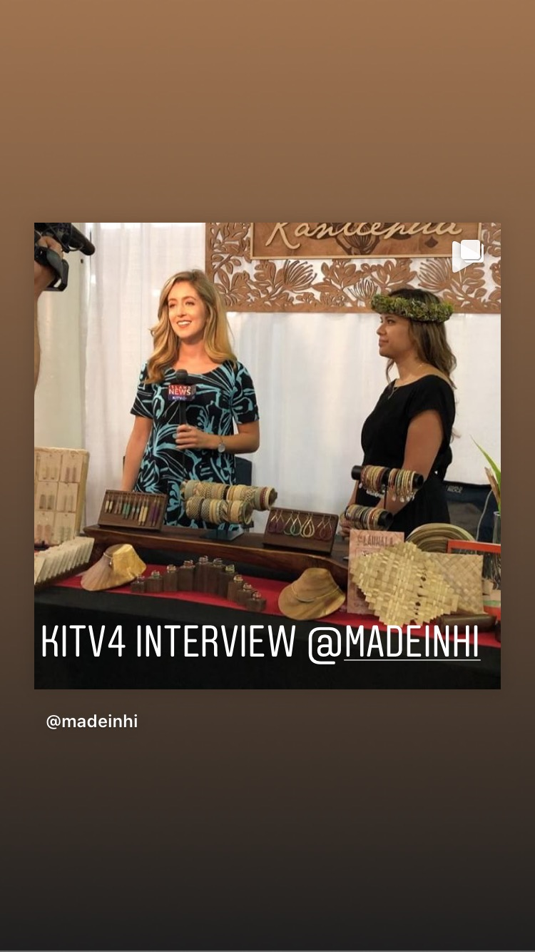 KITV4 Interview - Made in Hawaii event at the Blaisdell Center