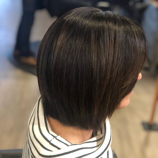 Textured bob by Brittany! Call to book your appointment with her limited spots open!