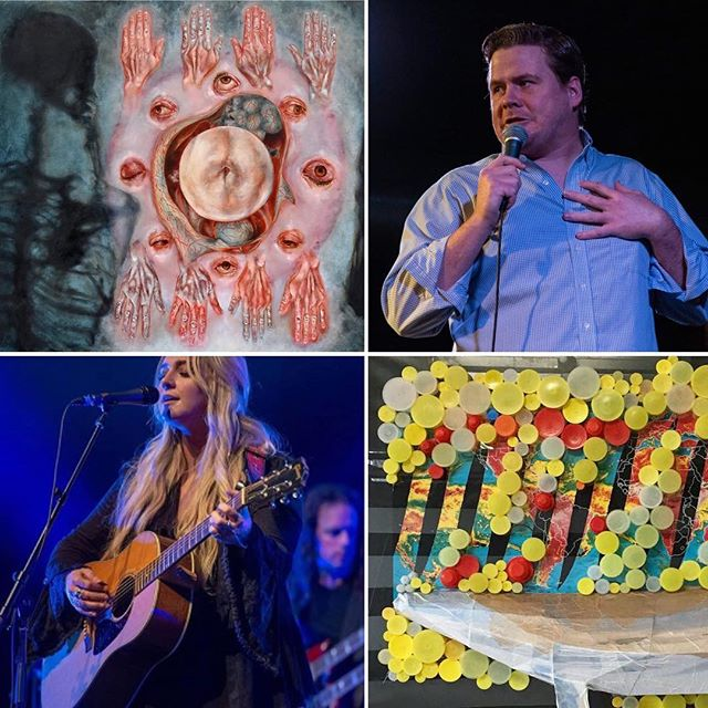 Tonight will be an action-packed evening at @lowemillarts! The evening kicks off with Concerts on the Dock and gallery openings throughout the building at 6pm, then stick around for Epic Comedy Hour in the Barking Dog Arts theater at 8pm! . . . #barkingdogarts #barkingdog #artafterhours #galleryopening #galleryopenings #standupcomedy #comedyhour #epiccomedy #epiccomedyhour #huntsville #huntsvilleartist #huntsvilleal #huntsvillealabama #lowemill #lowemillarts #lowemillartsandentertainment #recycledart #recycledartist #oilpaintings