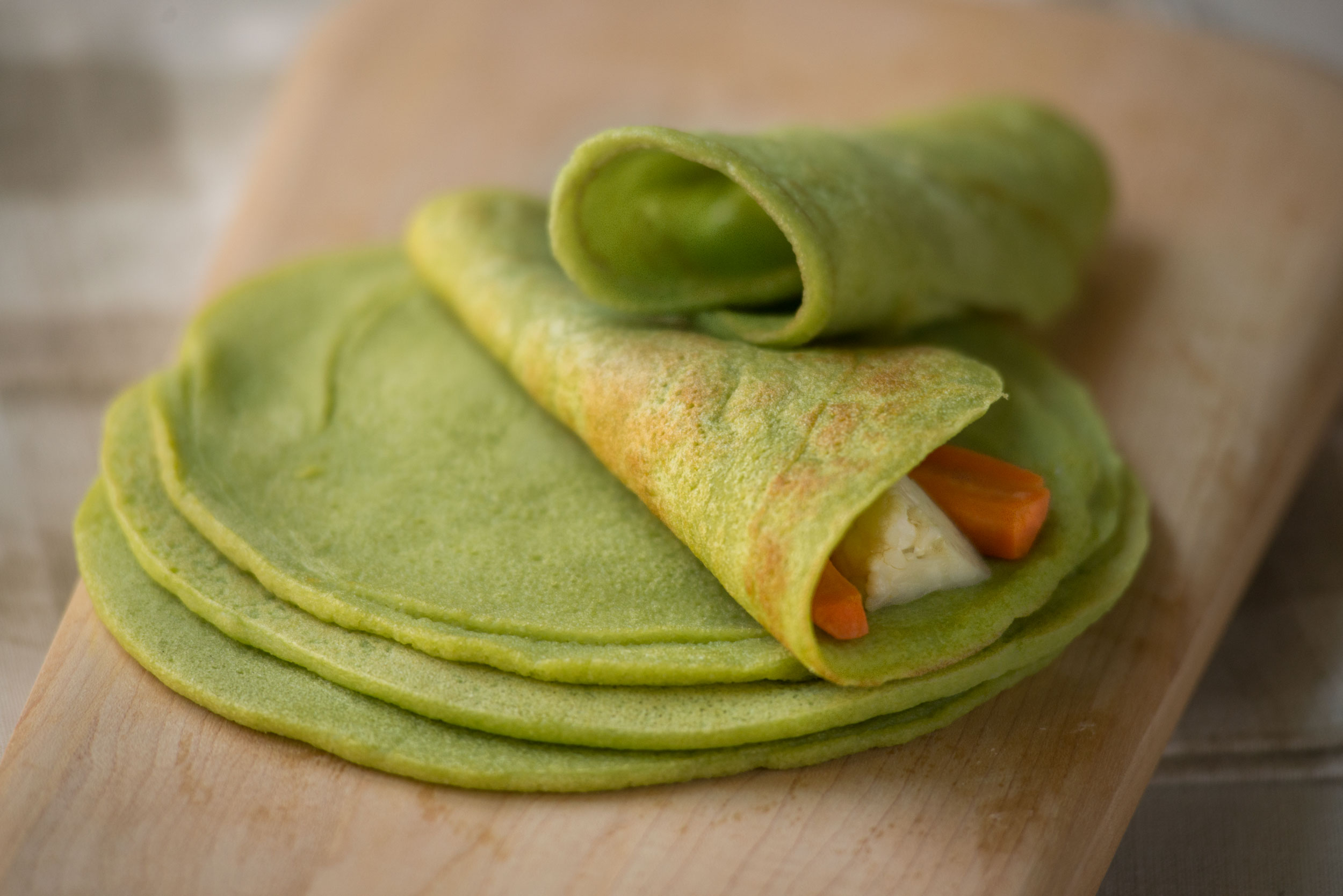 Split-Pea Tortillas