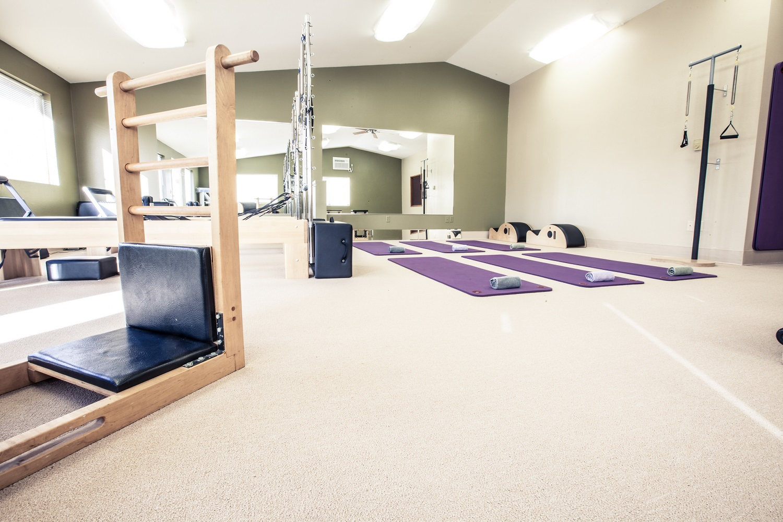 pilates studio, yoga, barre