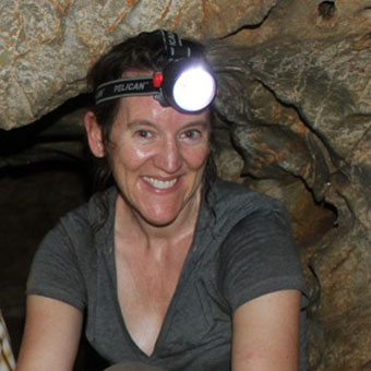 Dr Kira Westaway   Quaternary geomorphologist and geochronologist at Macquarie University, who has over 13 years' experience in establishing chronologies for cave sites in Southeast Asia, including Liang Bua in western Flores, Tam Pa Ling in northern Laos and Lida Ajer in Western Sumatra