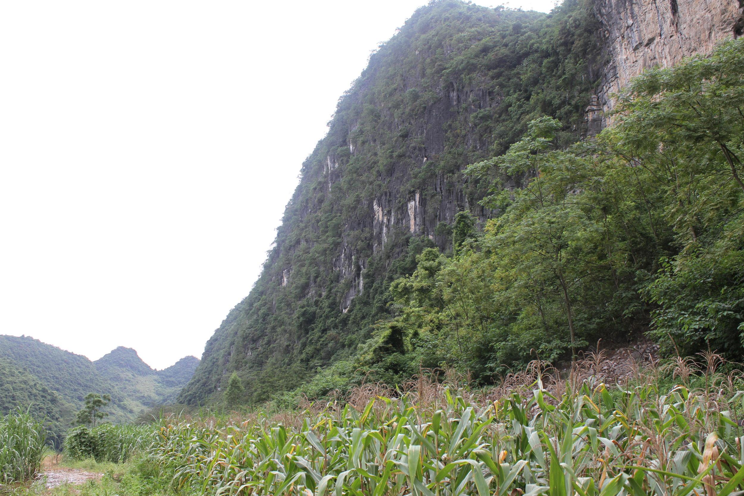 Baxian cave -