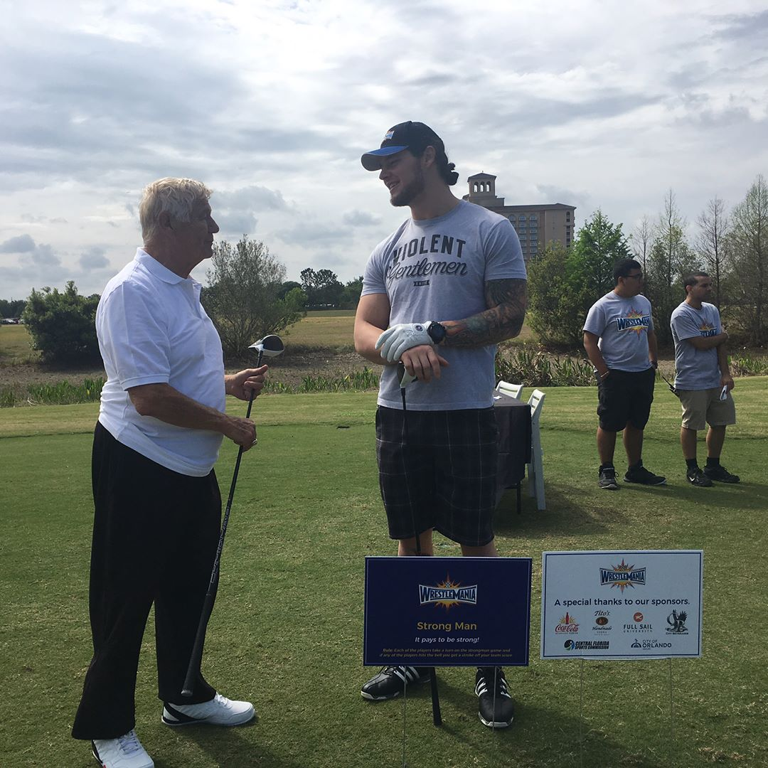 Wrestlemania Golf Tournament 2017