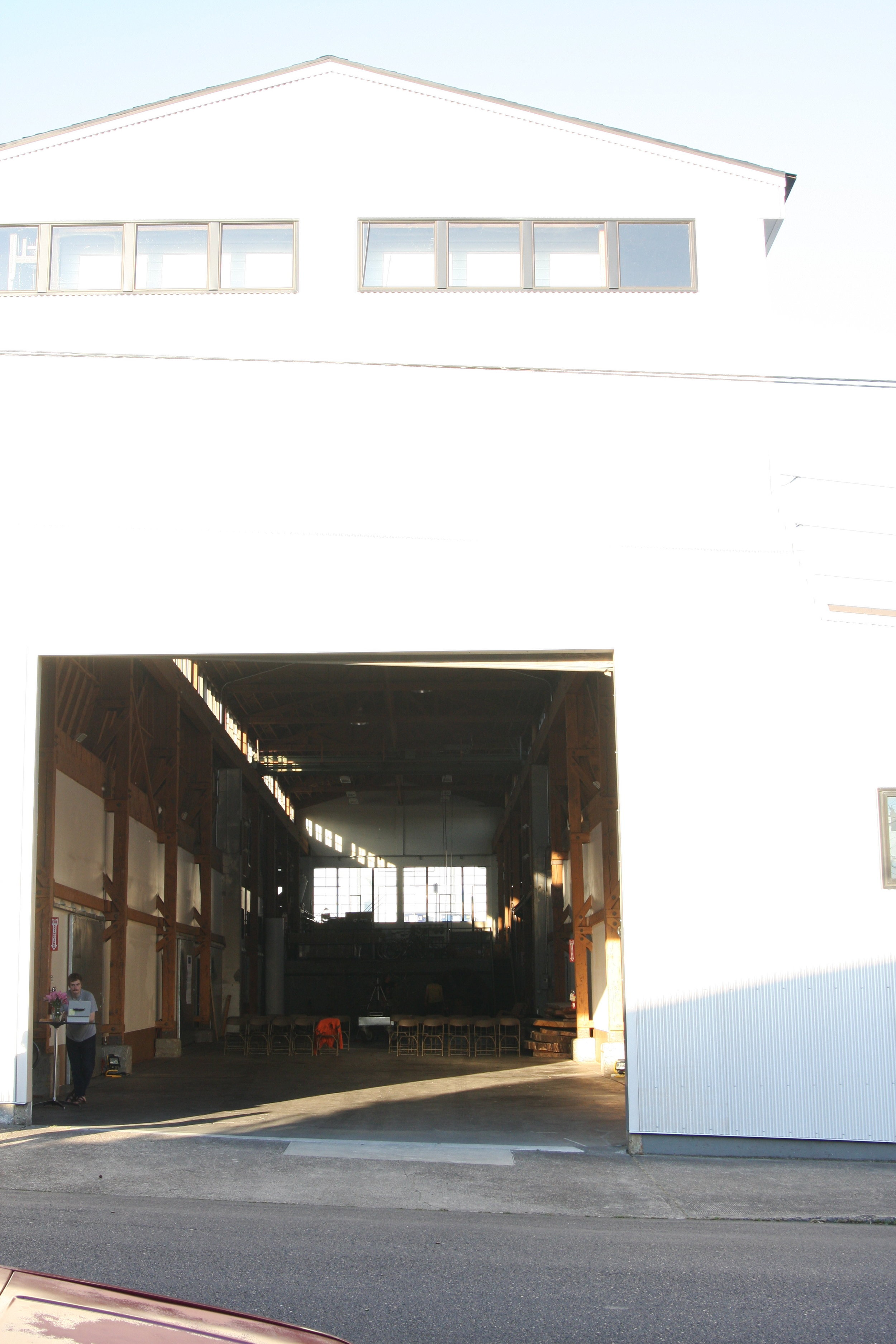 External view of The Plant. Photo by Daniel Addy.
