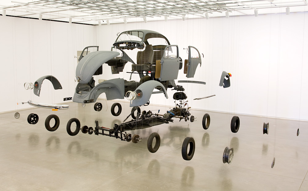 Damian Ortega, Cosmic Things (2002). Image from the  University of Kent .