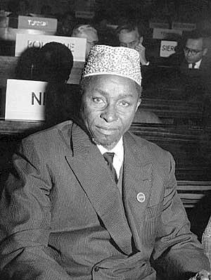 Hampaté Bâ. Image from  African Success.