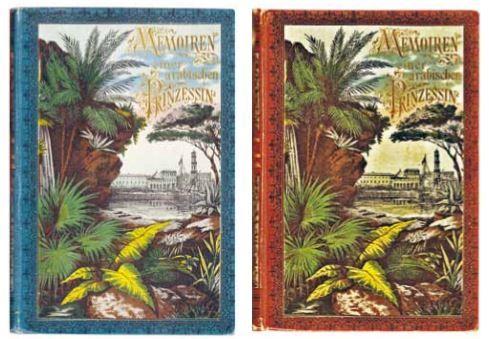 German edition of  Memoirs of an Arabian Princess .