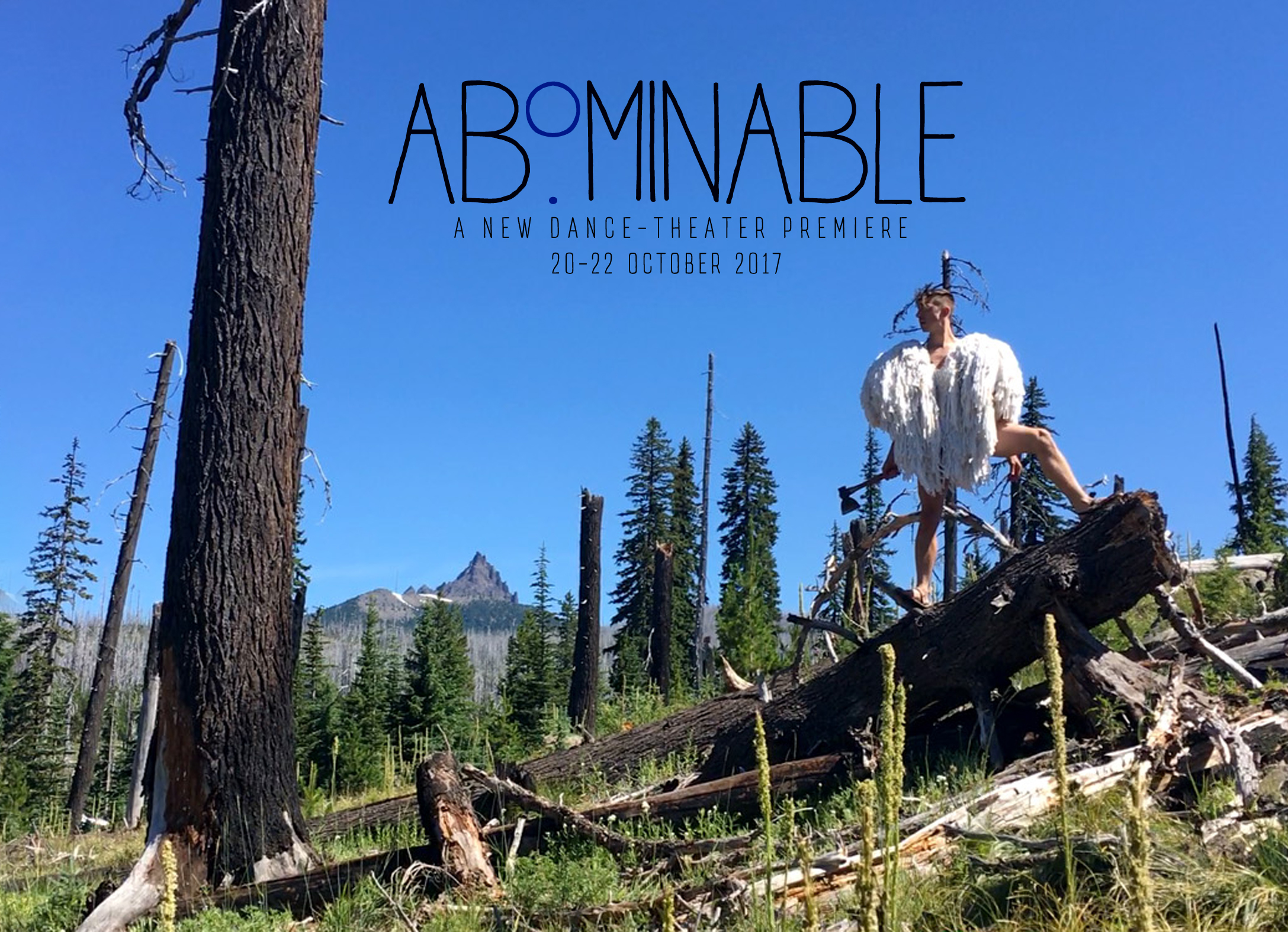 Promotional postcard for   Abominable  . Photo by Daniel Addy.