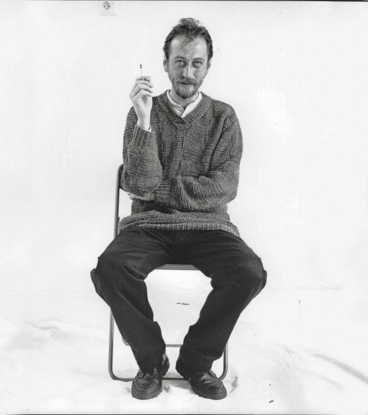 László Krasznahorkai. Image from    The New Yorker    .