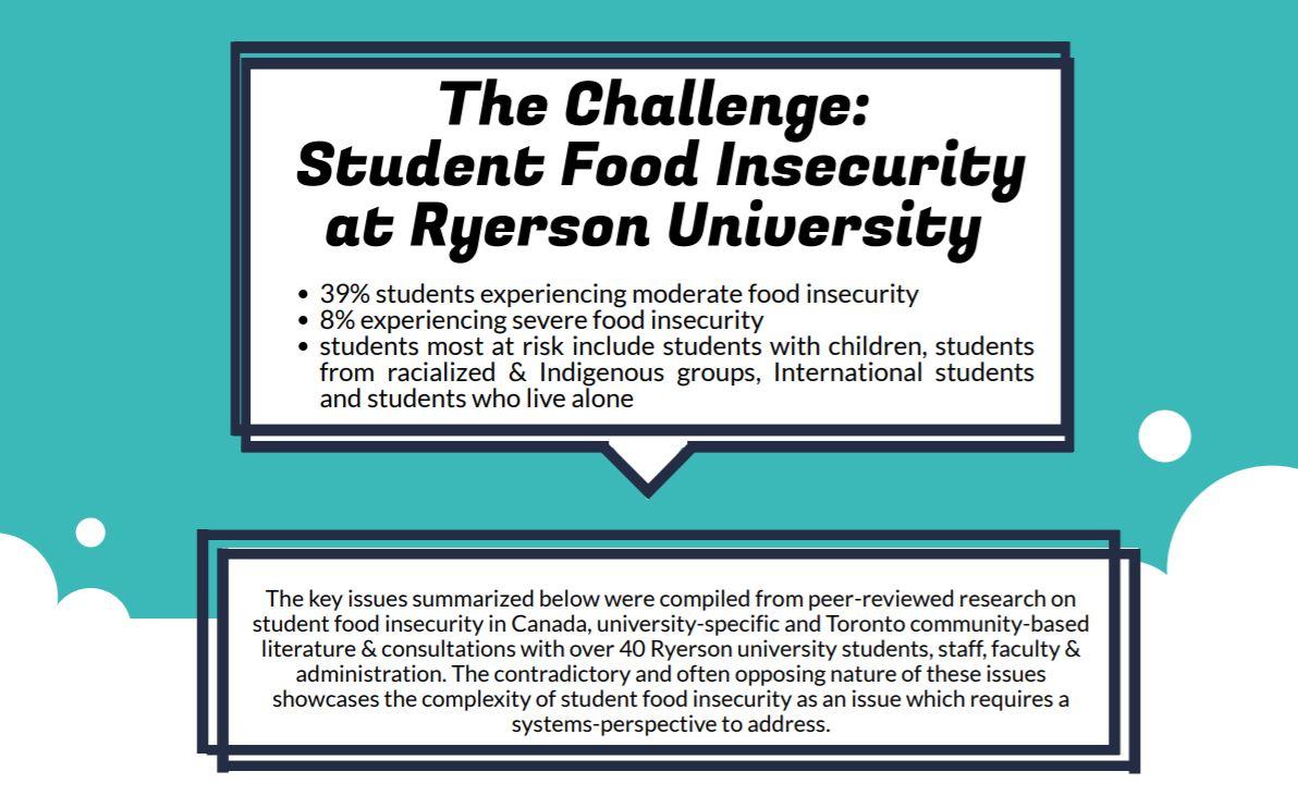 Ryerson University Challenge Brief Infographic