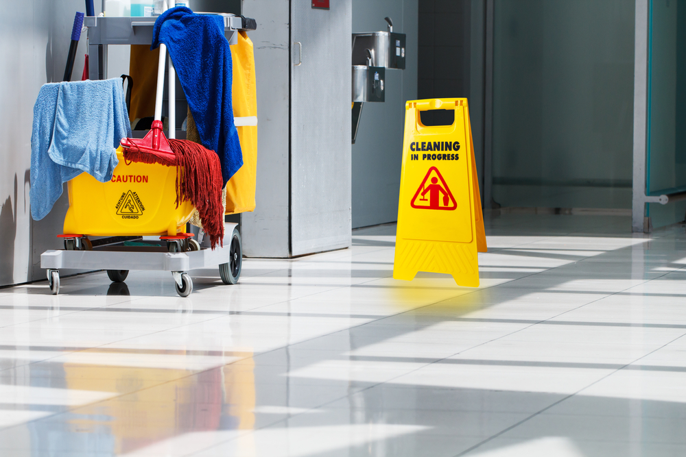 JANITORIAL CLEANING -
