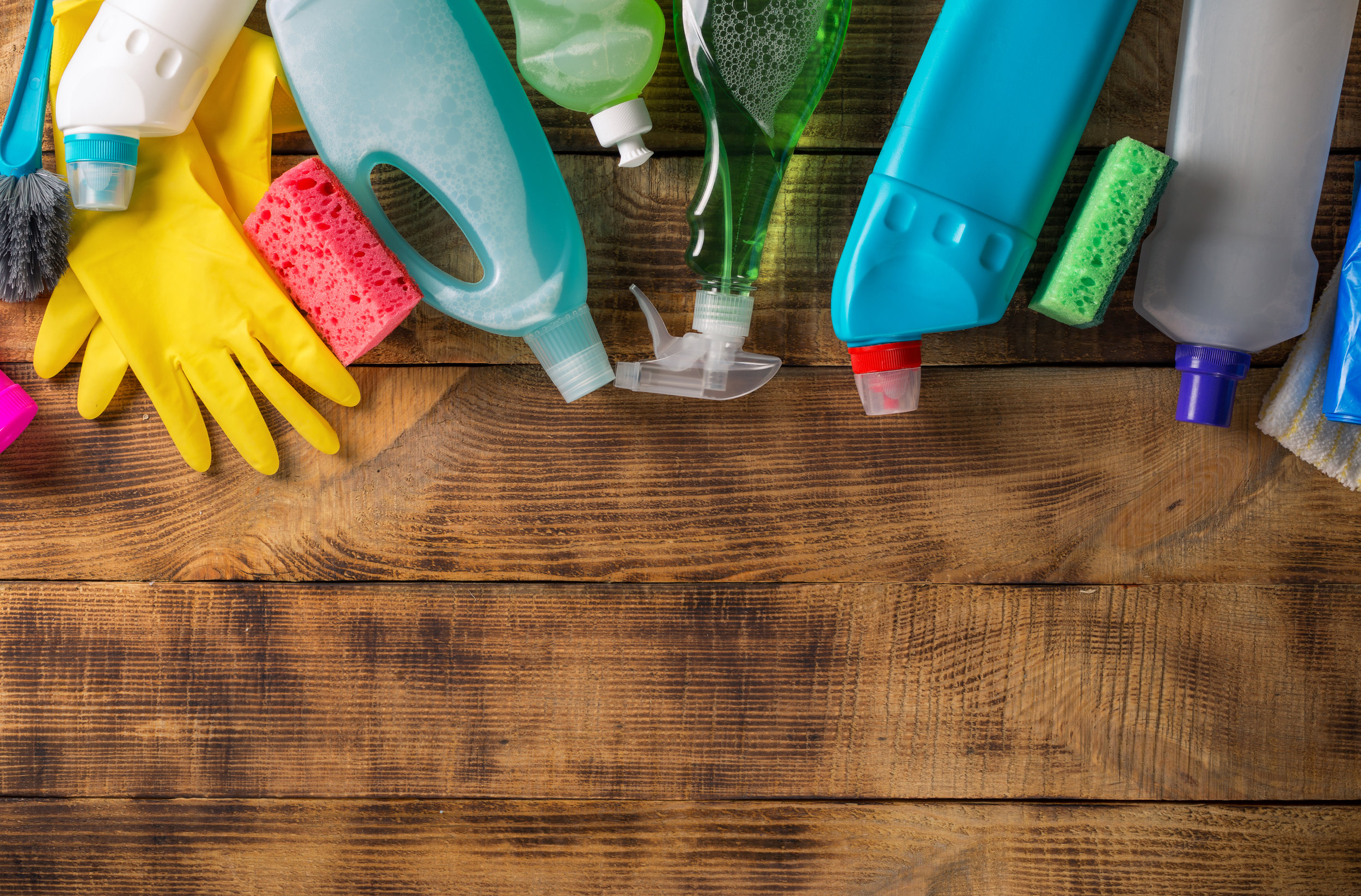 GREEN CLEANING SUPPLIES -
