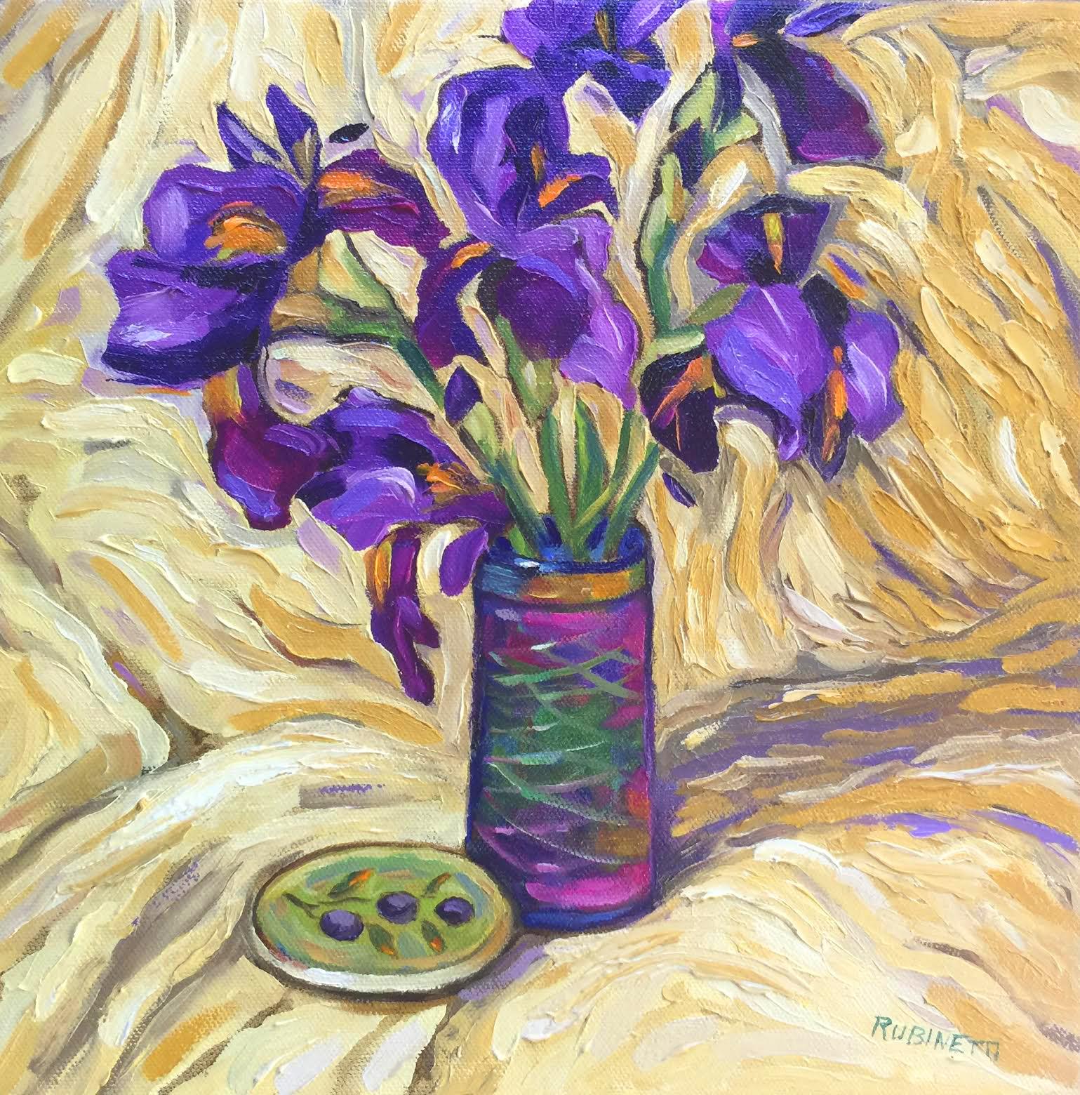 First Irises