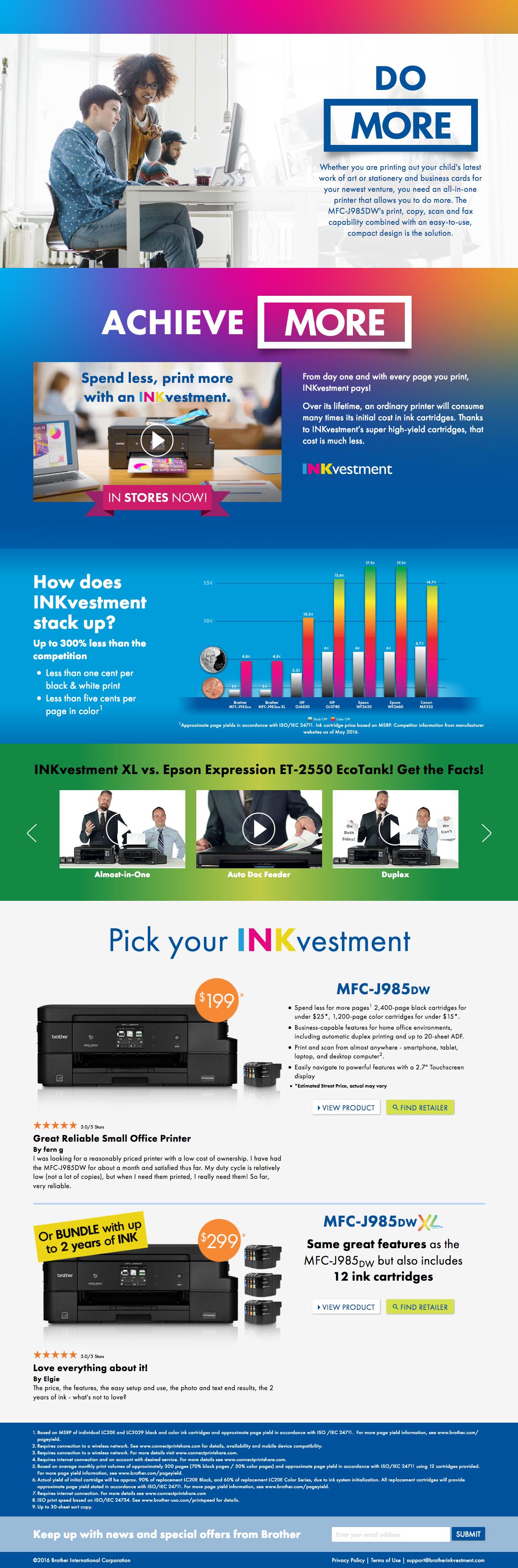 Inkvestment Web Design