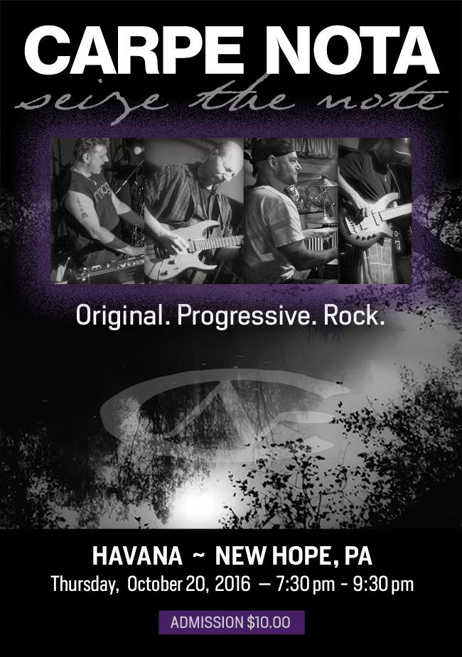 Carpe Nota Event Poster