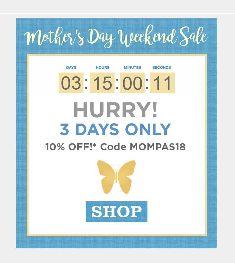 Mother's Day email campaign